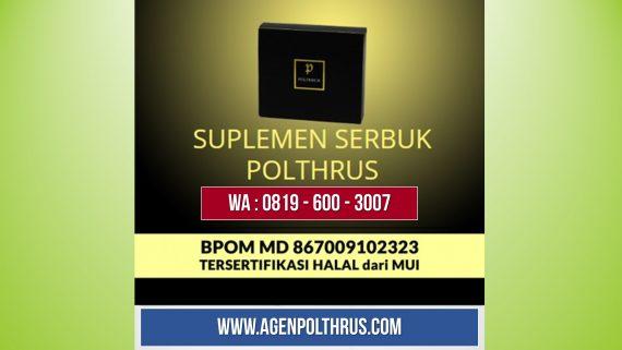 Distributor POLTHRUS Original | Rahasia Kejantanan Aman Khusus Pria Dewasa di Penggilingan, Kec. Cakung - Jakarta Timur